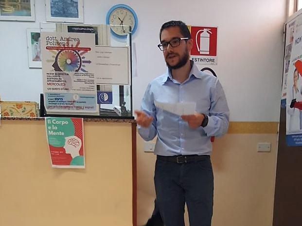 Psicologo specializzato in tumori, sicolog clinico, Andrea Poliseno