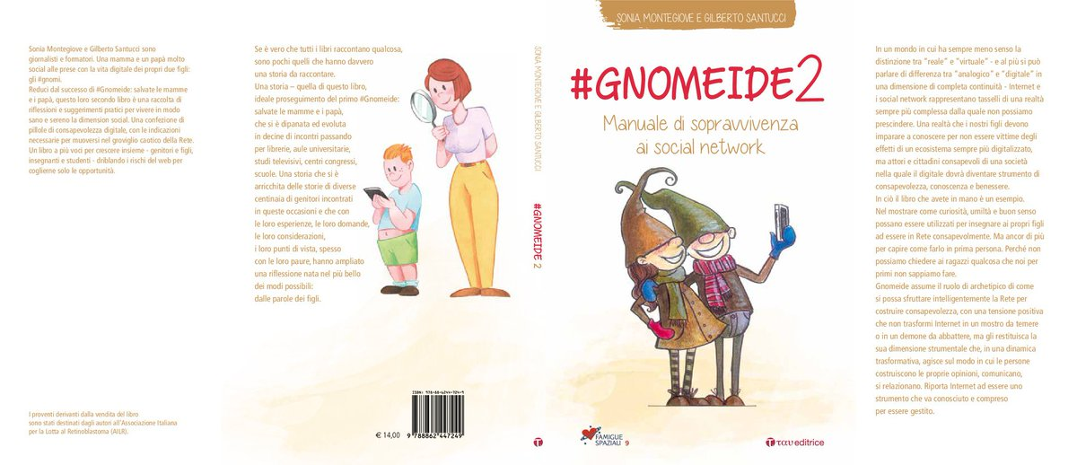 #Gnomeide2 disponibile in tutte le librerie!